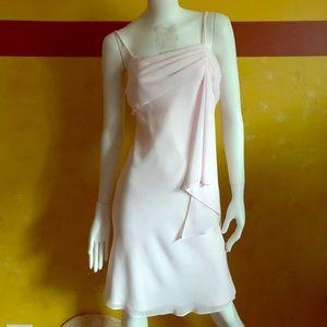 Aspeed elegant pink slip dress